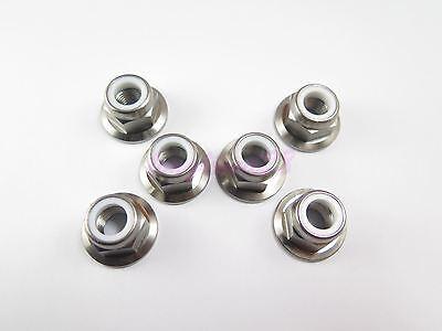 Screw Fastener GR5 2//6//10pcs 10mm Hex M8 x 45mm Titanium Ti Bolt Flange Head