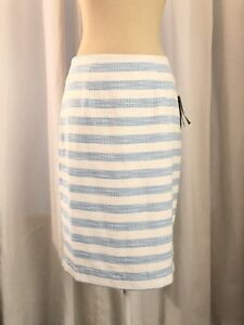 1caf04087 Image is loading NWT-Lilly-Pulitzer-HYACINTH-Pencil-Skirt-Flutter-Blue-