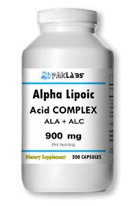 ALA-ALC-Alpha-Lipoic-Acid-Complex-800mg-with-L-Carnitine-200-Capsules-FRESH