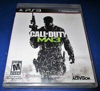 Call of Duty: Modern Warfare 3 (Sony PlayStation 3, 2011) Video Games