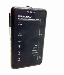 Tableau Digital Intelligence Ultrablock Firewire800 Usb 2 0 Ide Bridge Ebay