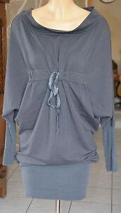 0b199c366147f Chargement de l image en cours COP-COPINE-Tres-jolie-robe-modele-bazin-gris-