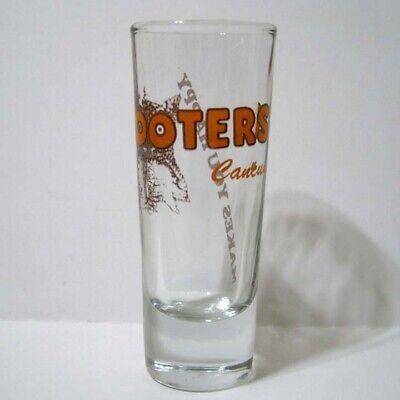 Hooters ® Restaurant Greenwood Indianapolis Indiana Large Heavy Shot Glass New