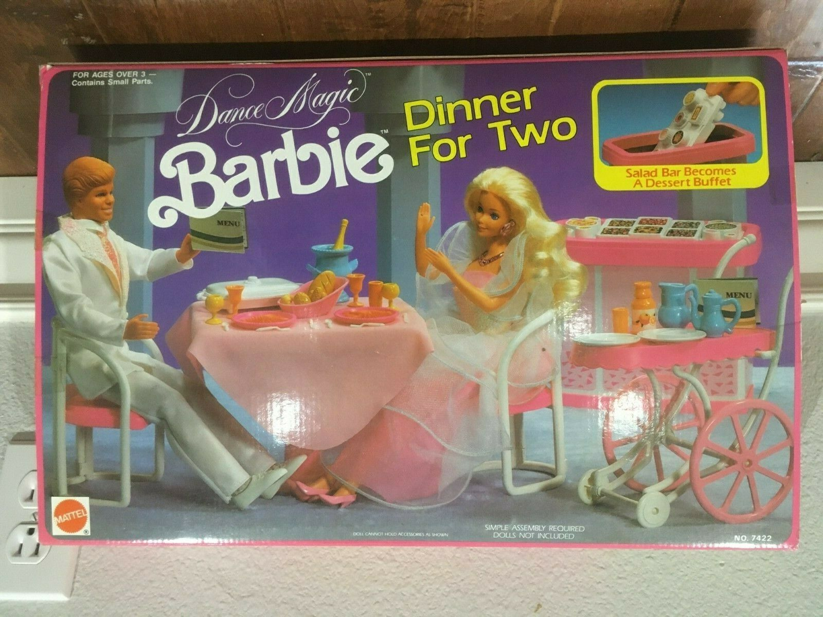 Dance Magic Barbie Dinner For Two Mattel no. 7422 from 1990
