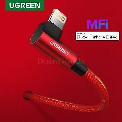 UGREEN 90 Degree Lightning Cable MFi