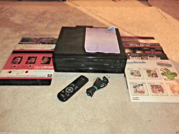 Humor Pioneer Cld-580 Laserdisc Ld Player, 2015 Generalüberholt, 10x Lds, 2j.garantie Complete Reeks Artikelen