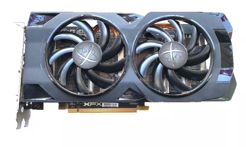 XFX AMD Radeon RX 480 RS 4GB GDDR5 GRAPHICS CARD (7% Less FPS Than RX 580)