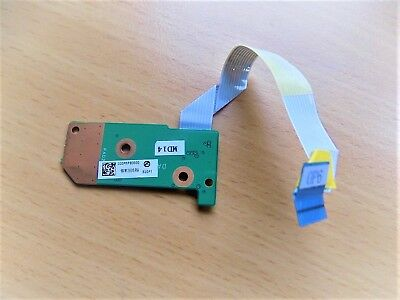 **original** Hp G61 Cq61 Power Button Board With Ribbon Cable => Tested Working Zorgvuldige Verfprocessen