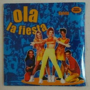SYLVIA-SHENE-OLA-LA-FIESTA-CD-Single-NEUF-NEW