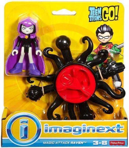 Fisher-Price Imaginext Teen Titans Go Magic Attack Raven