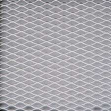 Sumex Silver Aluminium Car Grill Grille Vent Mesh Hexagonal Type - (33 x 100cm)
