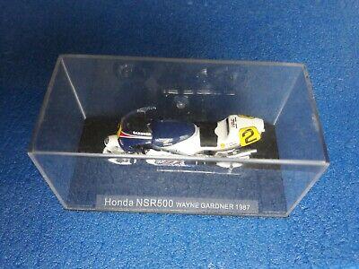 170 Honda Nsr500 W. Gardner 1987 Scala 1: 24 Box Cvgm3/19 Buono Per L'Energia E La Milza