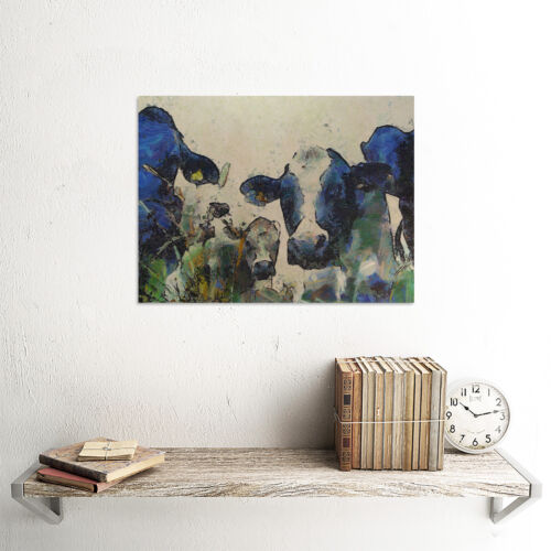 NATURE COW CATTLE FARM ANIMAL POSTER ART PRINT HOME PICTURE BB101B
