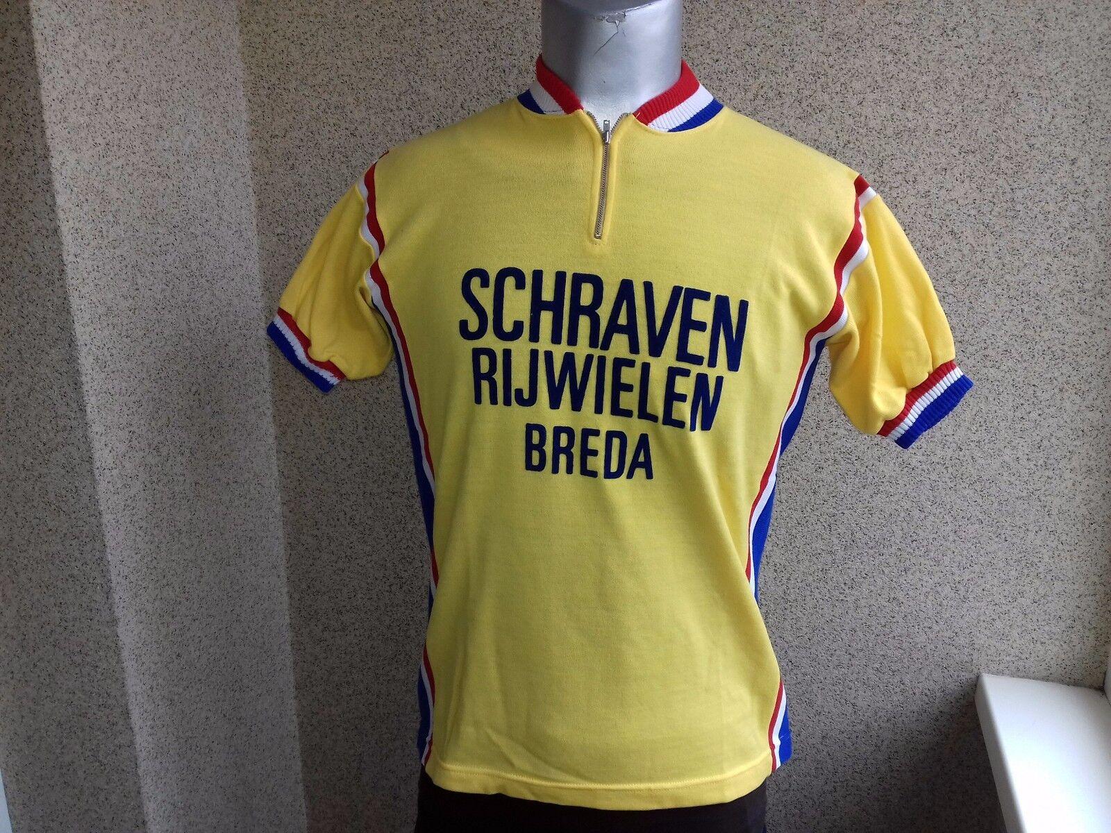 Camiseta Ciclismo libraron Vintage Brojoa JESRSEY Raro  CAMISETA 1980  Todos los productos obtienen hasta un 34% de descuento.