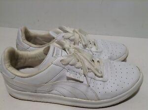 Details about PUMA G.VILAS L2 MEN'S WHITE MET SILVER SHOES #35275801 Size 10 EUR 43