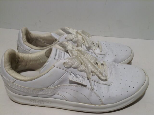 PUMA G.VILAS L2 MEN S WHITE MET SILVER SHOES  35275801 Size 10 EUR 43 a228da972
