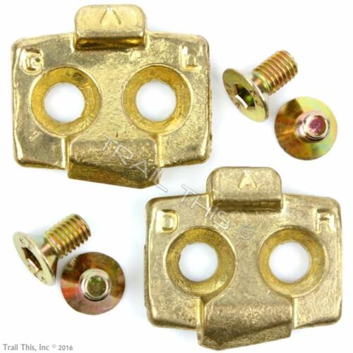 Genuine TIME ATAC MTB Cleat Set with Hardware fits MX 2 4 6 XC 8 12 Pedals