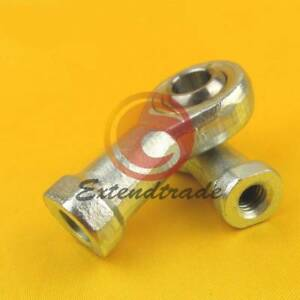 2Pcs Internal Female 8mm Metric Thread Rod End Ball Joint Bearing SI8T//K PHSA8