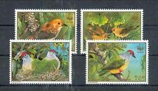 Cook Inseln  1278 - 81  WWF    Vögel - Birds  **  (mnh)