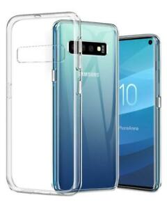 Samsung Galaxy S10 Transparent Case Crystal Clear Soft Thin Flexible TPU Cover