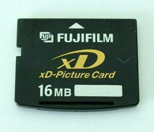 FUJIFILM 16 MB di memoria XD Picture flash card per Olympus & Fuji fotocamere digitali