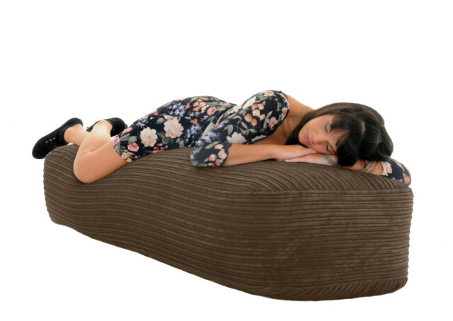 Gilda Jumbo CORDUROY 5 FT / 150 cm Giant SOFA BED Beanbag Chair Bean Bags