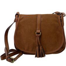 EDC-ESPRIT Damen-Handtasche Braun Crossover Tasche Schultertasche Ladys Bag NEU