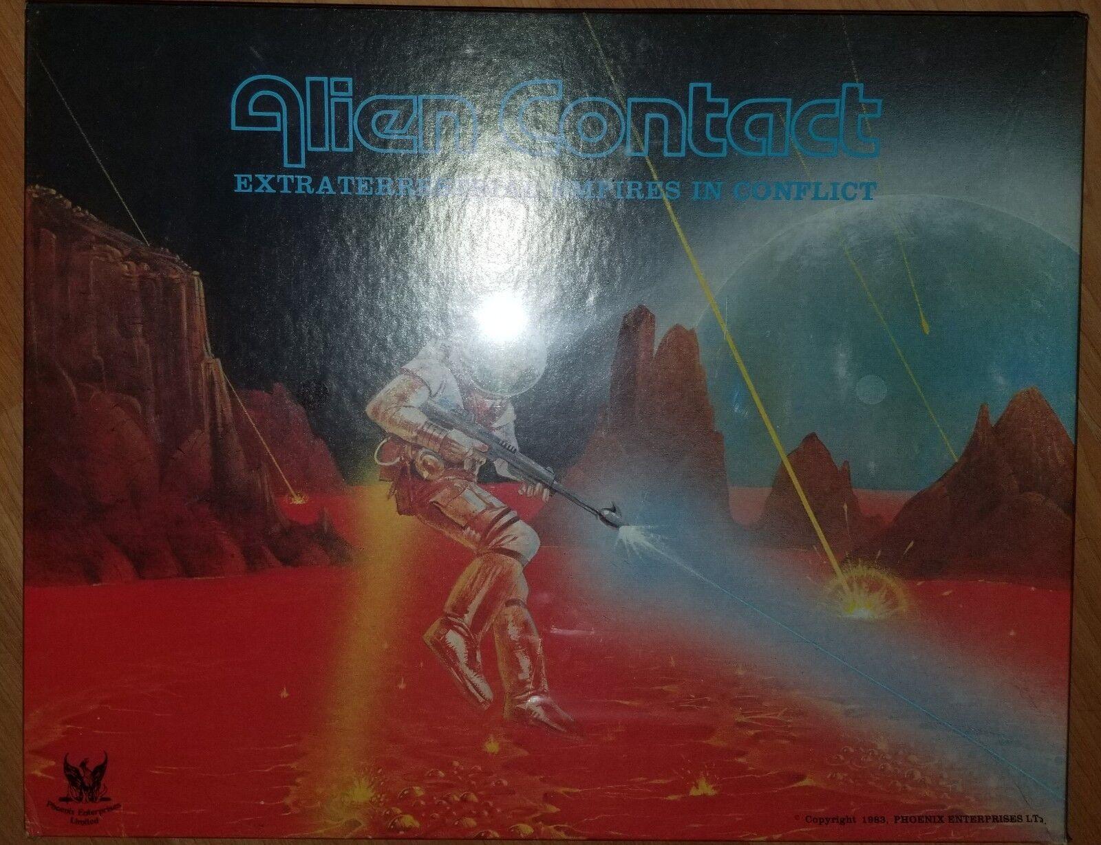 Alien contacto extraterrestre imperios en conflicto Phoenix Vintage Juego De Mesa