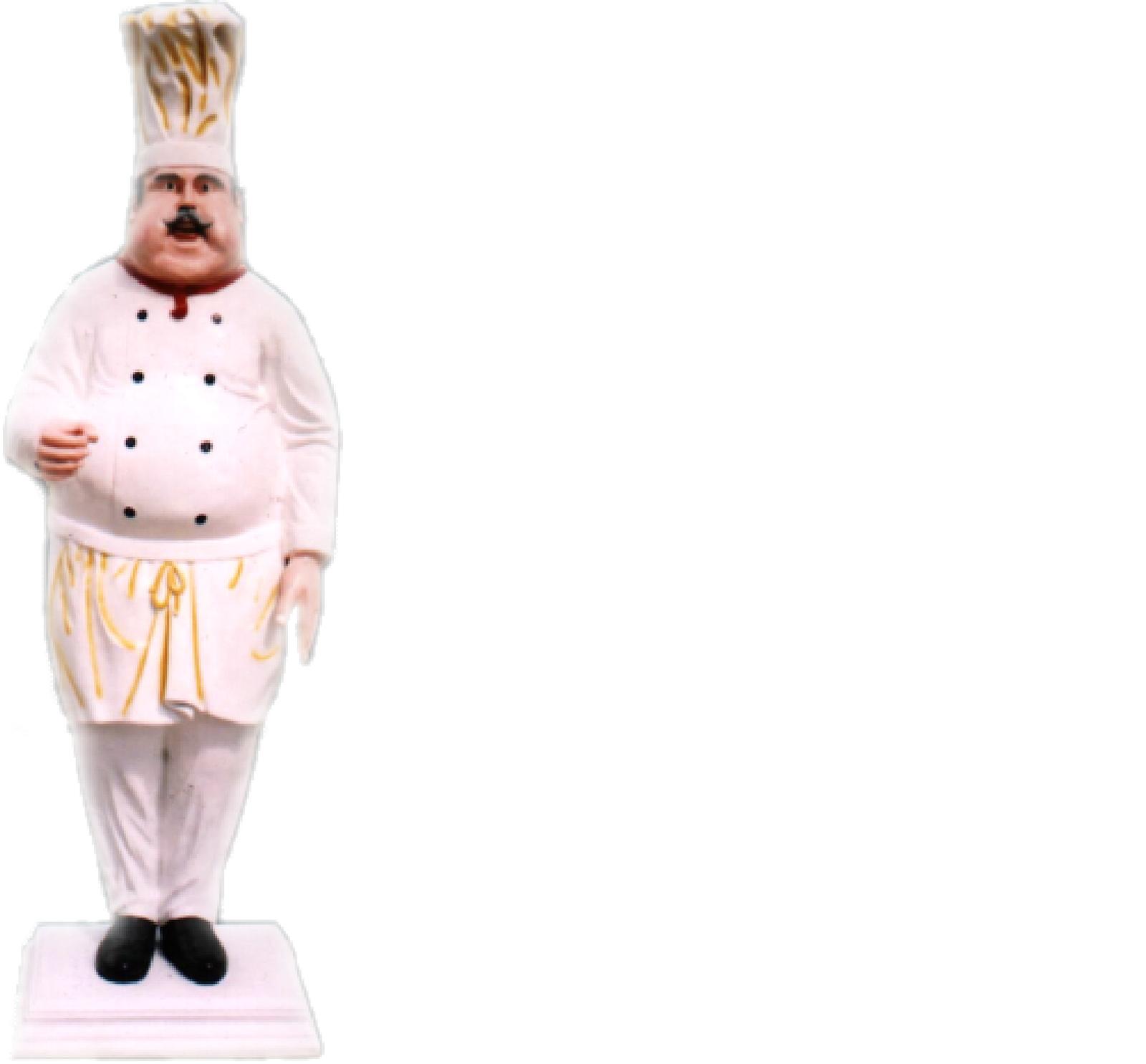Restaurant Koch Figur Statue Skulptur Figuren Skulpturen Dekoration Deko 213cm