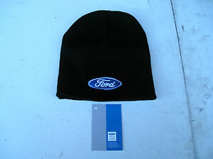 Richbrook-FORD-Collection-NEW-FORD-Logo-BEANIE-HAT-Black-universal-fit