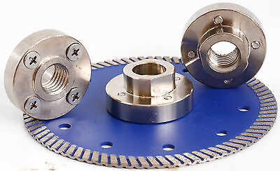 Quad Adapter Four Hole 5/8-11 For Diamond Cutting Blades Granite Concrete Stone