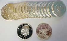 1971-S $1 Silver Proof Eisenhower Ike Dollar Roll 20 Coins