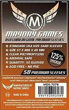 Mayday Premium Usa Chimera 50 Card Sleeves 57.5Mm X 89Mm