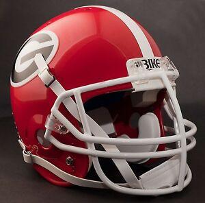 GEORGIA-BULLDOGS-Football-Helmet-FRONT-TEAM-NAMEPLATE-Decal-Sticker-034-BIKE-034