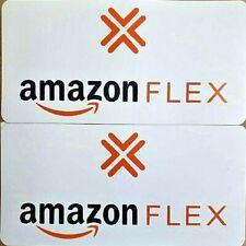 "1 Large AMAZON FLEX  100/% Magnetic CAR VEHICLE SIGN  12/"" x 24/"" FREE SHIP"
