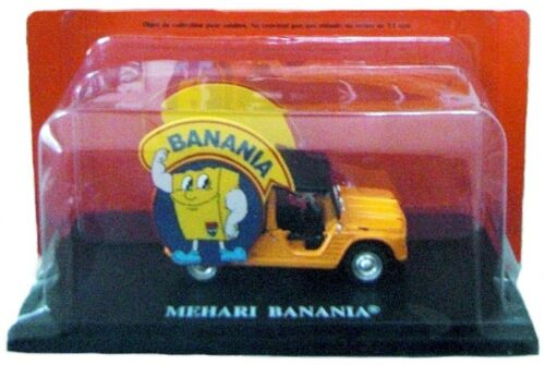 CITROEN MEHARI  PUB IXO BANANIA TOUR de FRANCE 1970 1//43