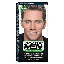 Just for Men Original Formula Mens Hair Color, Light Brown H-25 1 Each