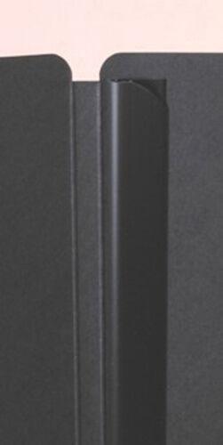 Umschläge 15 schwarze Bewerbungsmappen PAGNA Select  3-teilig mit Klemmschiene