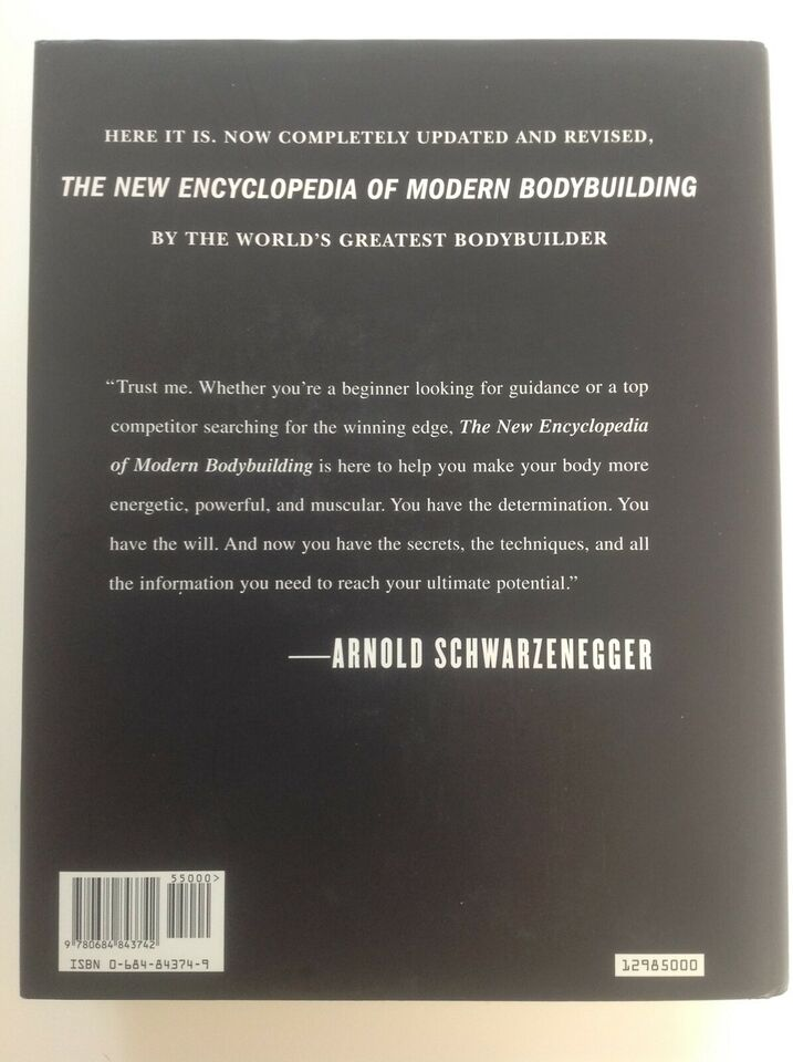 The New Encyclopedia of Modern Bodybuilding, Arnold
