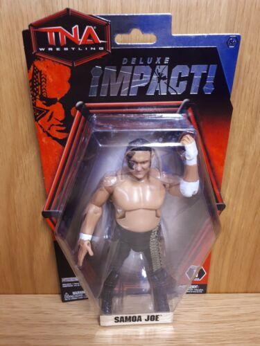 """TNA JAKKS-Samoa Joe-Deluxe Impact Series 1 6//7/"""" Figure"""