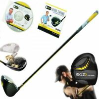 SKLZ LEFT HANDED GYRO GOLF SWING TRAINING PRACTICE GYROSCOPIC CLUB TRAINER AID