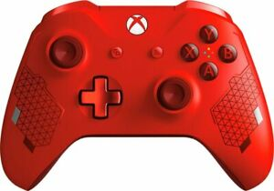 Genuine-Microsoft-Xbox-One-Wireless-Controller-Sport-Red-Special-Edition-UD-4