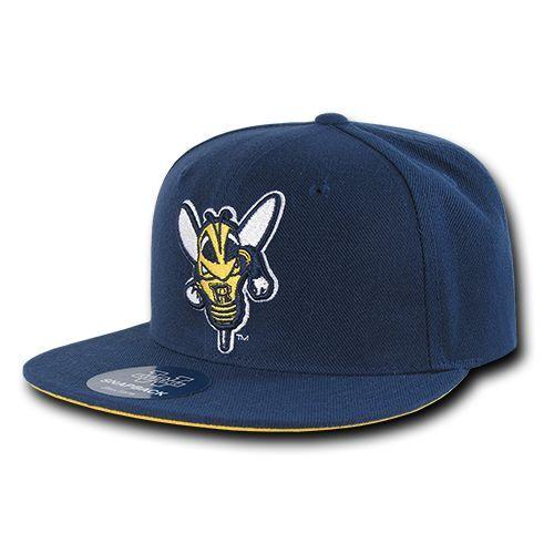 University of Rochester Yellowjackets NCAA Fitted Flat Bill Baseball Cap Hat