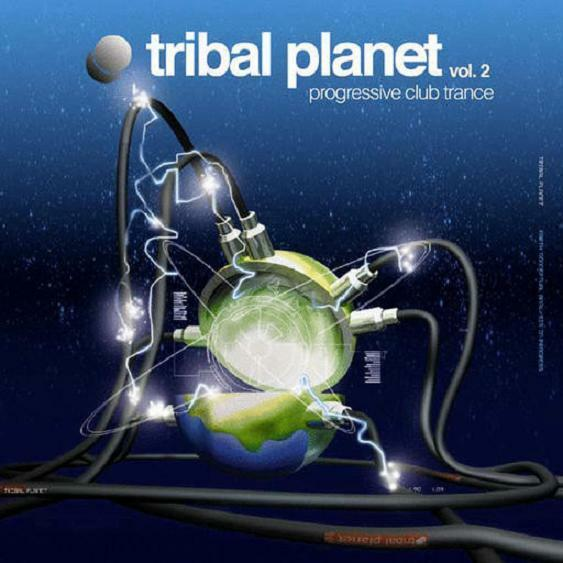 TRIBAL PLANET 2 = Descent/Fog/Morax/UDG/Atmos...=2CDs= HOUSE TRANCE PROGRESSIVE!