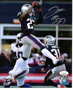 J-C-Jackson-New-England-Patriots-Autographed-hand-Signed-8x10-photo-JSA
