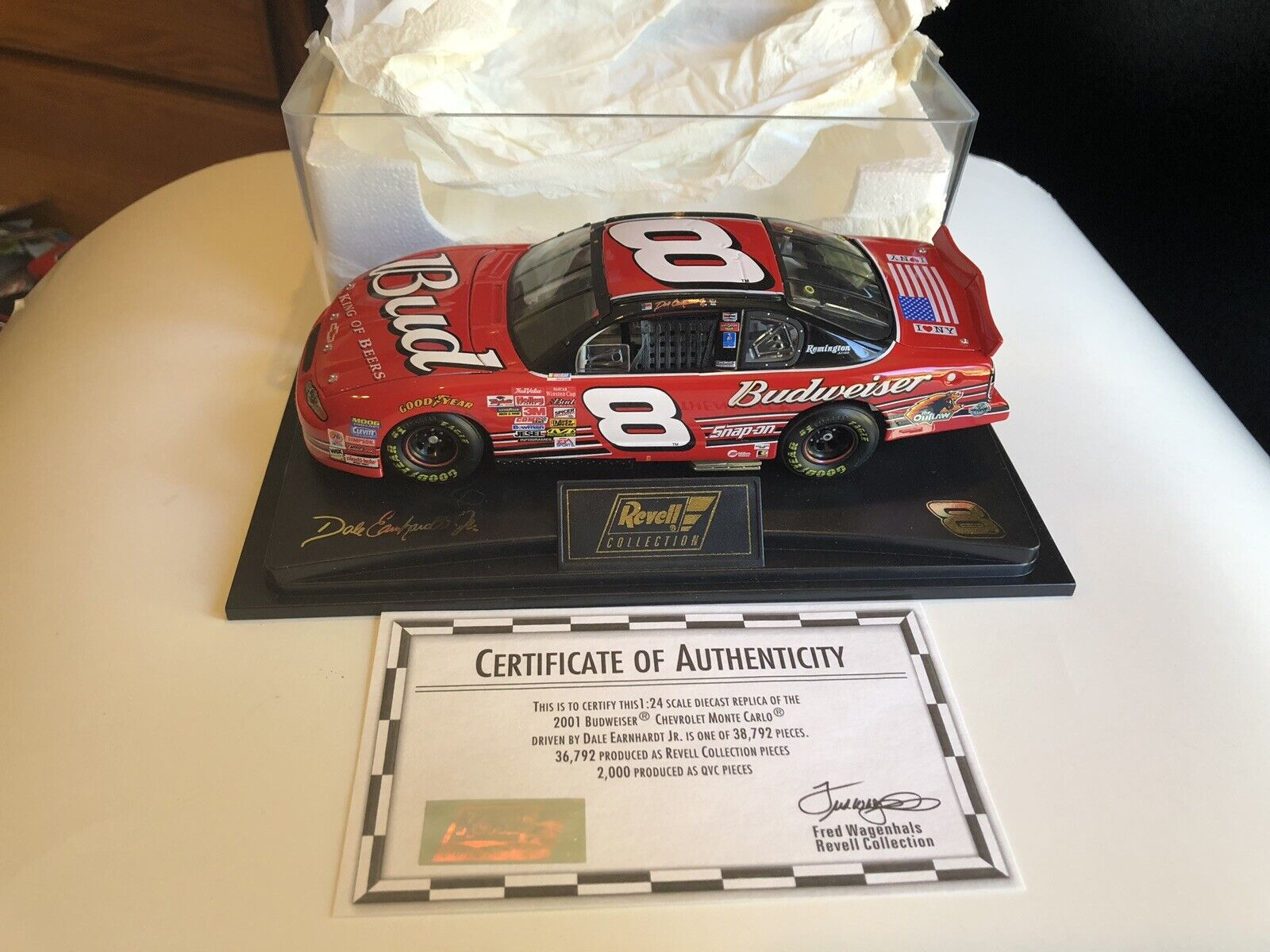 Dal Earnhardt Jr 1 24 Dover Win Raced Version Mint Condition Never offened