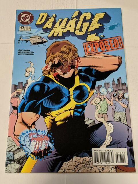 Damage #17 October 1995 DC Comics