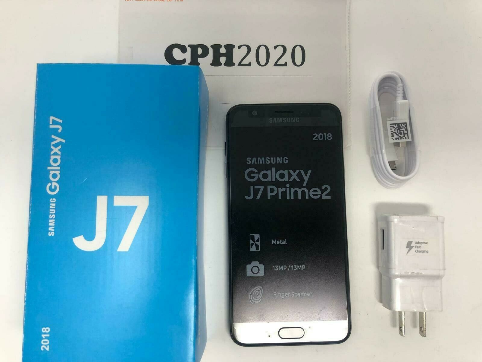 Unlocked New Samsung Galaxy J7 2018 J737a Hd 4g Lte At T Black Phone 887276221977 Ebay
