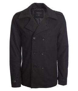 Black Classic Pea S Aero Coat xl Aeropostale Jacket l Peacoat Mens m xwAnxpXqF