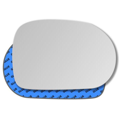 Derecha del pasajero cristal espejo exterior para kia carnival 2002-2006
